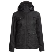 Foursquare Chrissy Shell Jacket (For Women) in Blackout - Closeouts