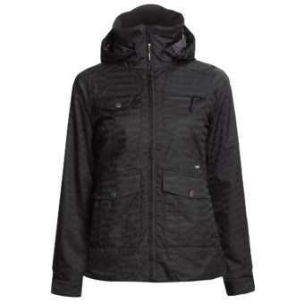 Foursquare Chrissy Shell Jacket (For Women) in Blackout