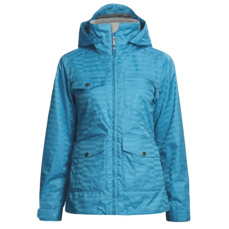 Foursquare Chrissy Shell Jacket (For Women) in Bluebird