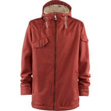 Foursquare Crew Jacket (For Men) in Foursquare Red - Closeouts