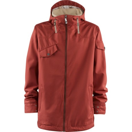 Foursquare Crew Jacket (For Men) in Foursquare Red