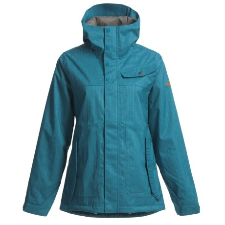Foursquare Easel 3-in-1 Jacket - Waterproof (For Women) in Blue Book