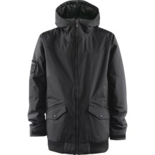 Foursquare Howl Jacket - Insulated (For Men) in Blacktop - Closeouts