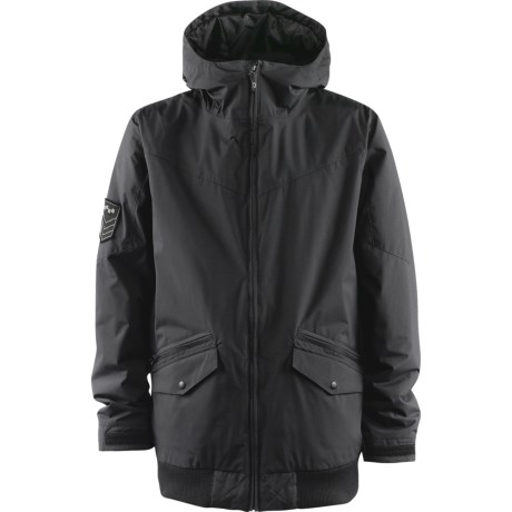 Foursquare Howl Jacket - Insulated (For Men) in Blacktop