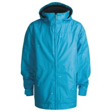 Foursquare Myers Shell Jacket (For Men) in Longitude Bluebird - Closeouts