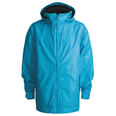Foursquare Myers Shell Jacket (For Men) in Longitude Bluebird