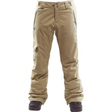 Foursquare Strut Waxed Canvas Snowboard Pants - Waterproof, Insulated (For Men) in Desert Eagle - Closeouts