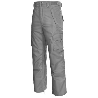 Foursquare Studio Snow Pants - Waterproof (For Men) in Cast Iron