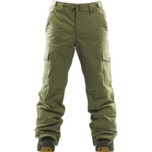 Foursquare Studio Snowboard Pants - Waterproof (For Men) in Green Beret - Closeouts