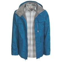 Foursquare Torque Jacket - Waterproof, 3-in-1 (For Men) in Blue Print - Closeouts