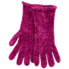 Fownes Brothers Chenille Gloves (For Women) in Fuschia - Closeouts