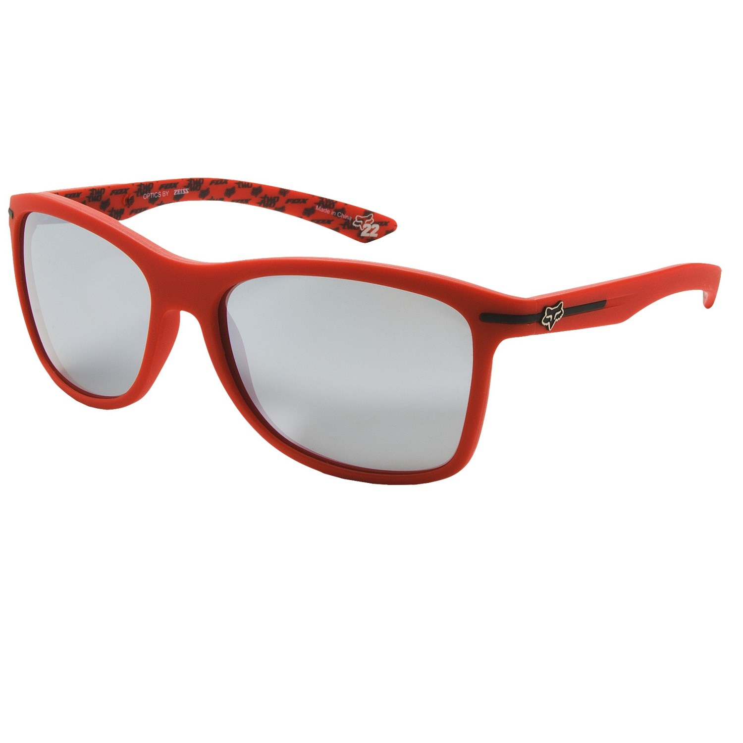 fox eyewear the deuce sunglasses orange spark