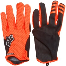 Fox Racing Attack Bike Gloves (For Men) in Black/Orange - Closeouts