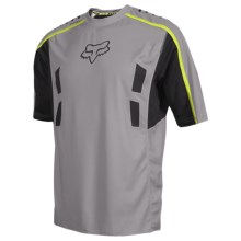 Fox Racing Attack Bike Jersey - Short Sleeve (For Men) in Grey - Closeouts
