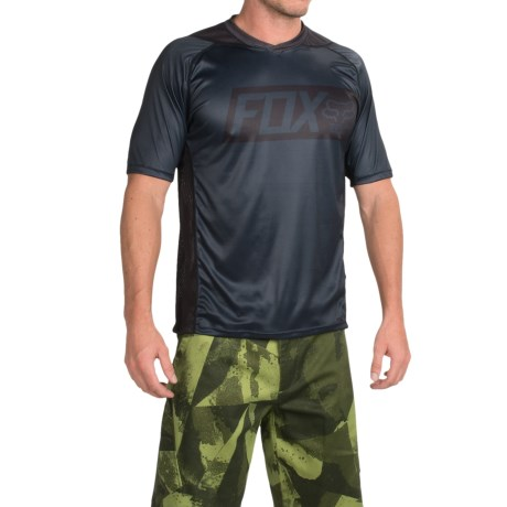Fox Racing Attack Cycling Jersey Short Sleeve (For Men)