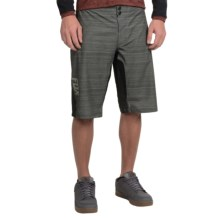 Fox Racing Attack Q4 Cycling Shorts (For Men) in Charcoal Heather - Closeouts