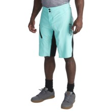 Fox Racing Attack Ultra Mountain Bike Shorts - 2-Piece (For Men) in Ice Blue - Closeouts