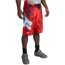 Fox Racing Demo DH Cauz Mountain Bike Shorts (For Men) in Red - Closeouts