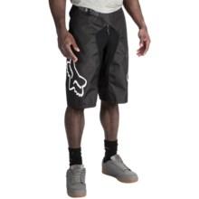 Fox Racing Demo DH Mountain Bike Shorts (For Men) in Black - Closeouts