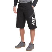 Fox Racing Demo Freeride Mountain Bike Shorts (For Men) in Black - Closeouts
