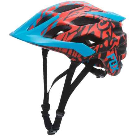 Fox Racing Flux Cauz Bike Helmet (For Men) in Blue - Closeouts