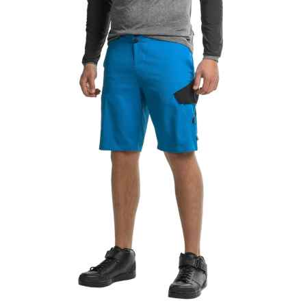 Fox Racing Giant Ranger Cargo Mountain Bike Shorts (For Men) in Blue - Closeouts