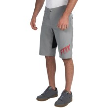 Fox Racing Indicator Bike Shorts (For Men) in Gray - Closeouts