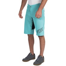 Fox Racing Indicator Bike Shorts (For Men) in Ice Blue - Closeouts