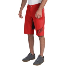 Fox Racing Indicator Bike Shorts (For Men) in Red - Closeouts
