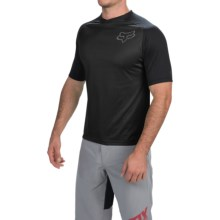Fox Racing Indicator Jersey - Short Sleeve (For Men) in Black - Closeouts