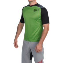 Fox Racing Indicator Jersey - Short Sleeve (For Men) in Green - Closeouts