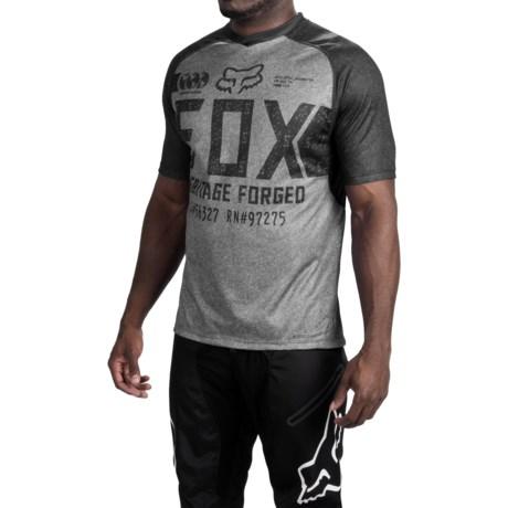 Fox Racing Indicator Logo Cycling Jersey - Short Sleeve