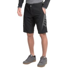 Fox Racing Livewire Cycling Shorts (For Men) in Black Charcoal - Closeouts