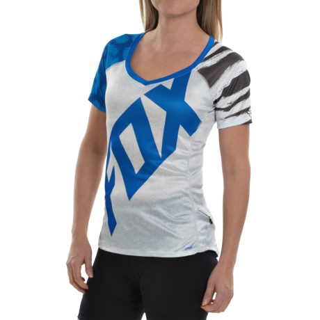 Fox Racing Lynx Cycling Jersey Short Sleeve (For Women)