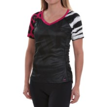 Fox Racing Lynx Cycling Jersey - Short Sleeve (For Women) in Pink - Closeouts