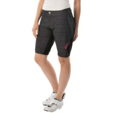 Fox Racing Lynx Mountain Bike Shorts (For Women) in Heather Black - Closeouts