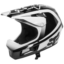 Fox Racing Rampage Comp Imperial Full Face Mountain Bike Helmet (For Men) in Black/White - Closeouts