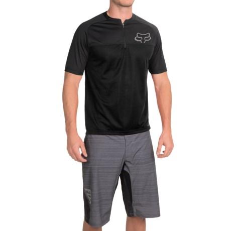 Fox Racing Ranger Cycling Jersey - Zip Neck, Short Sleeve