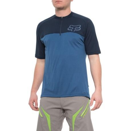 Fox Racing Ranger Mountain Zip Neck Bike Jersey - Short Sleeve (For Men) in 1c599e130
