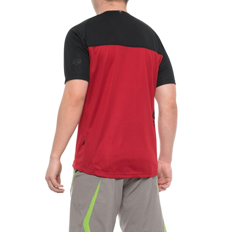 Fox Racing Ranger Mountain Zip Neck Bike Jersey - Short Sleeve (For Men) 02266adea