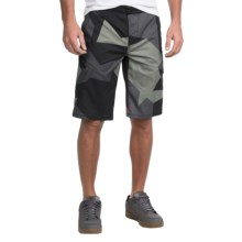 Fox Racing Ranger Printed Bike Shorts (For Men) in Black Camo - Closeouts