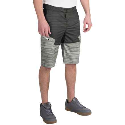 Fox Racing Ranger Printed Bike Shorts (For Men) in Heather Black - Closeouts