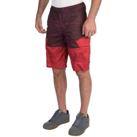 Fox Racing Ranger Printed Bike Shorts (For Men) in Heather Red - Closeouts