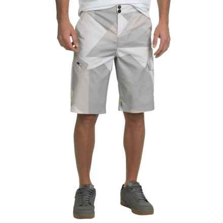 Fox Racing Ranger Printed Bike Shorts (For Men) in White Camo - Closeouts