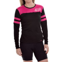 Fox Racing Ripley Cycling Jersey - Long Sleeve (For Women) in Black - Closeouts