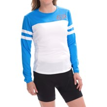 Fox Racing Ripley Cycling Jersey - Long Sleeve (For Women) in Blue - Closeouts