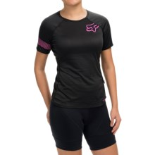 Fox Racing Ripley Cycling Jersey - Short Sleeve (For Women) in Black - Closeouts