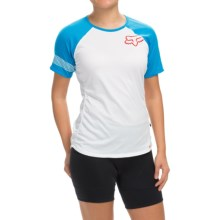 Fox Racing Ripley Cycling Jersey - Short Sleeve (For Women) in Blue - Closeouts