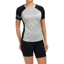 Fox Racing Ripley Cycling Jersey - Short Sleeve (For Women) in Light Grey - Closeouts