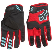 Fox Racing Sidewinder Bike Gloves (For Men) in Black/Red - Closeouts